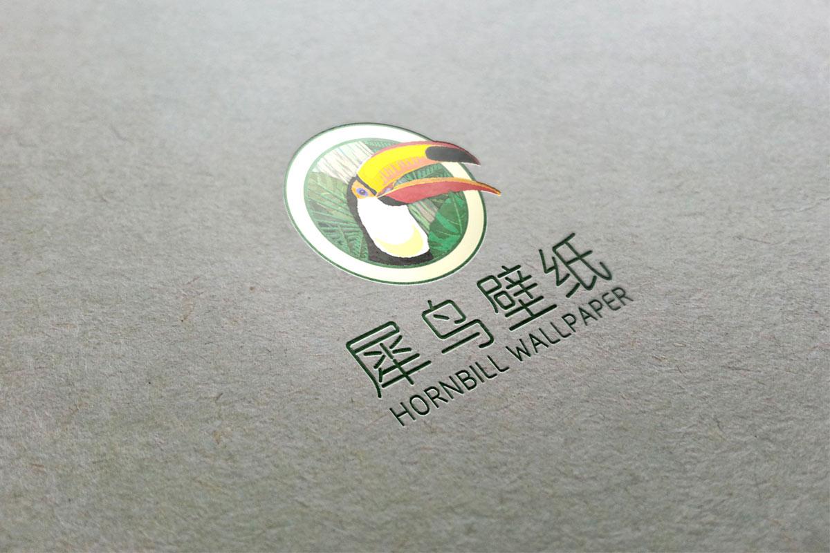 犀鸟壁饰VI效果图