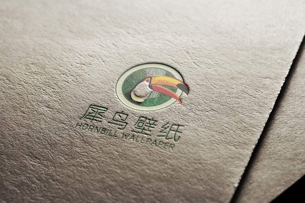 犀鸟壁饰VI展示