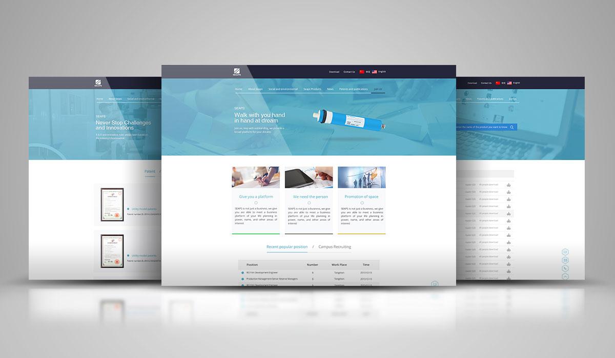 海清源网站设计