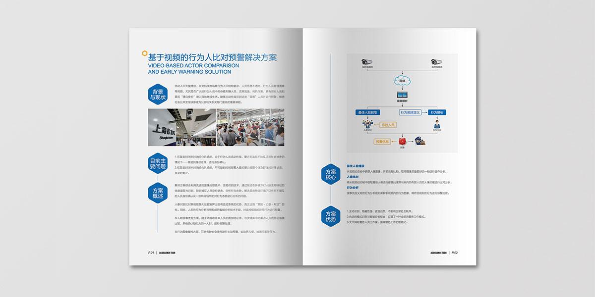 卓华信息宣传册内页