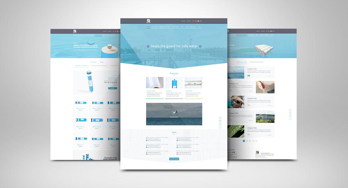 海清源网站展示